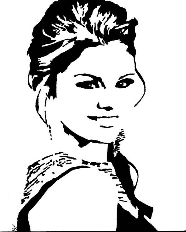 Selena Gomez Poster By Deborah Lepor
