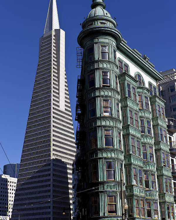 Sentinel Building Poster featuring the photograph Sentinel Building San Francisco by Garry Gay