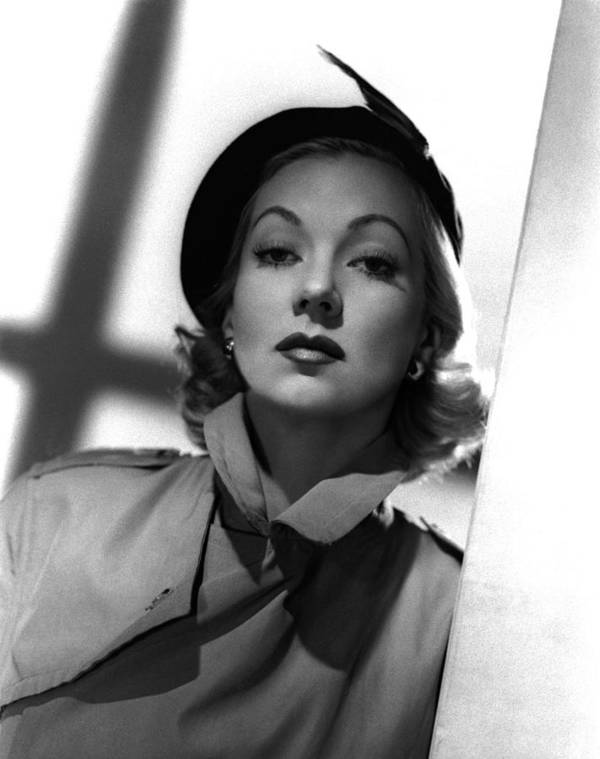 1950 Movies Poster featuring the photograph Shadow On The Wall, Ann Sothern, 1950 by Everett