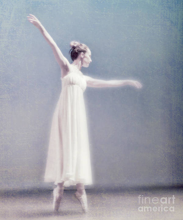 Ballet Dancer Poster featuring the photograph She Dances by Linde Townsend