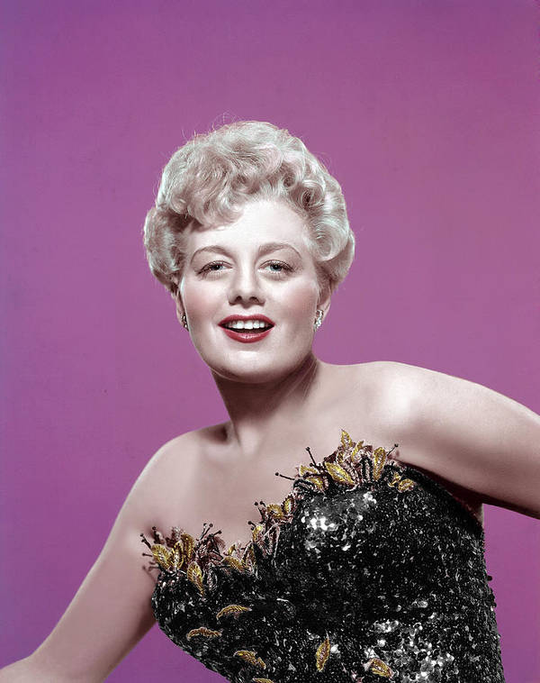 1950s Portraits Poster featuring the photograph Shelley Winters, 1950s by Everett