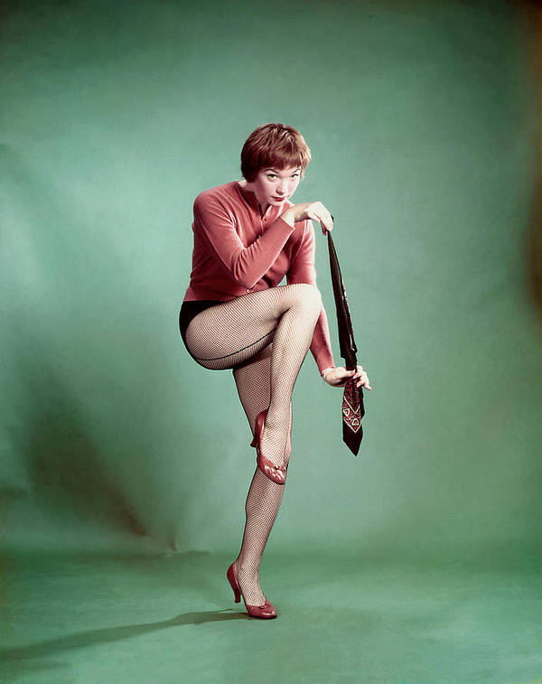 1950s Portraits Poster featuring the photograph Shirley Maclaine, 1958 by Everett
