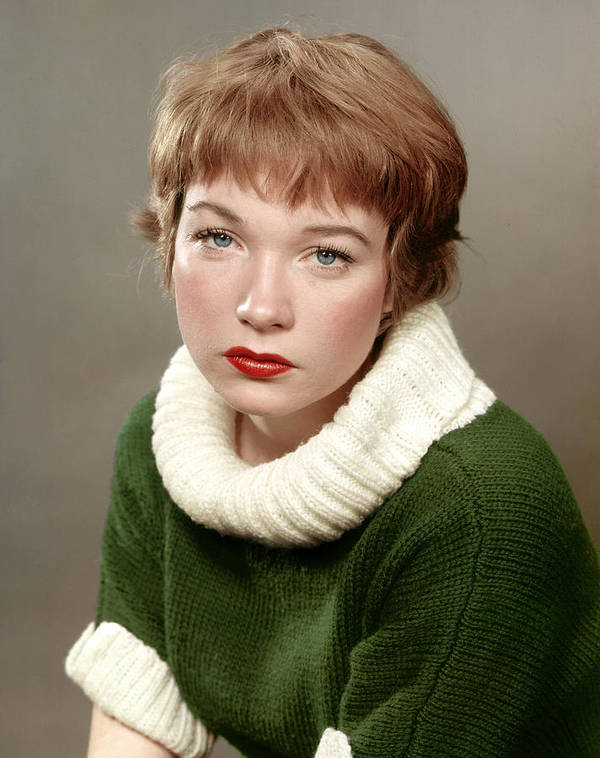 1950s Portraits Poster featuring the photograph Shirley Maclaine, Late 1950s by Everett