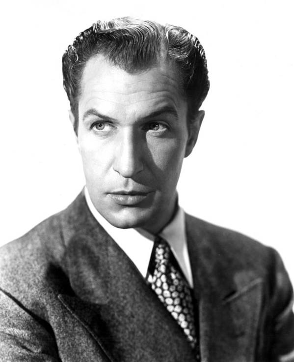 1940s Movies Poster featuring the photograph Shock, Vincent Price, 1946 by Everett