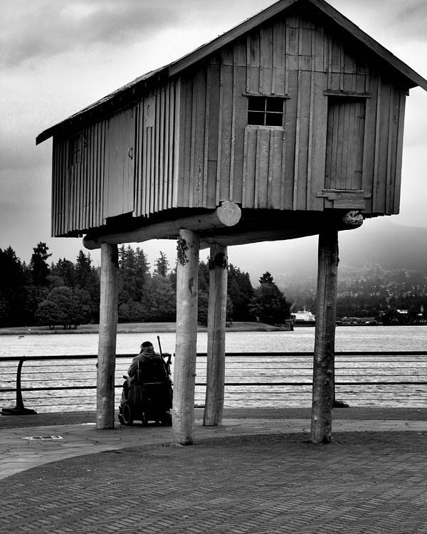 Vancouver Poster featuring the photograph Silent Contemplation by Anthony Chia-bradley