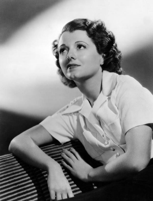 1930s Movies Poster featuring the photograph Small Town Girl, Janet Gaynor, 1936 by Everett