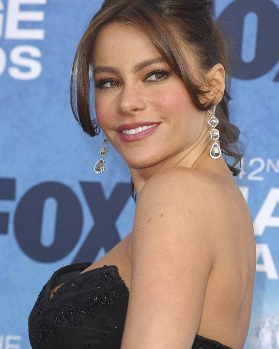 Sofia Vergara Poster featuring the photograph Sofia Vergara At Arrivals For 42nd by Everett