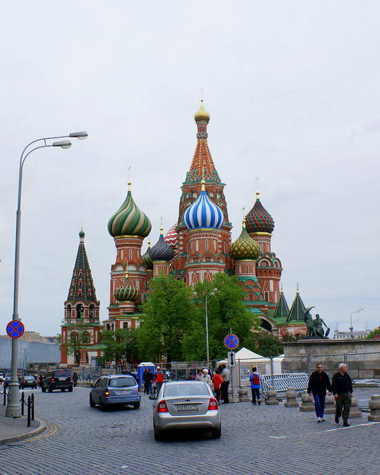 Moscow Poster featuring the photograph St. Basil's Cathedral 25 by Padamvir Singh