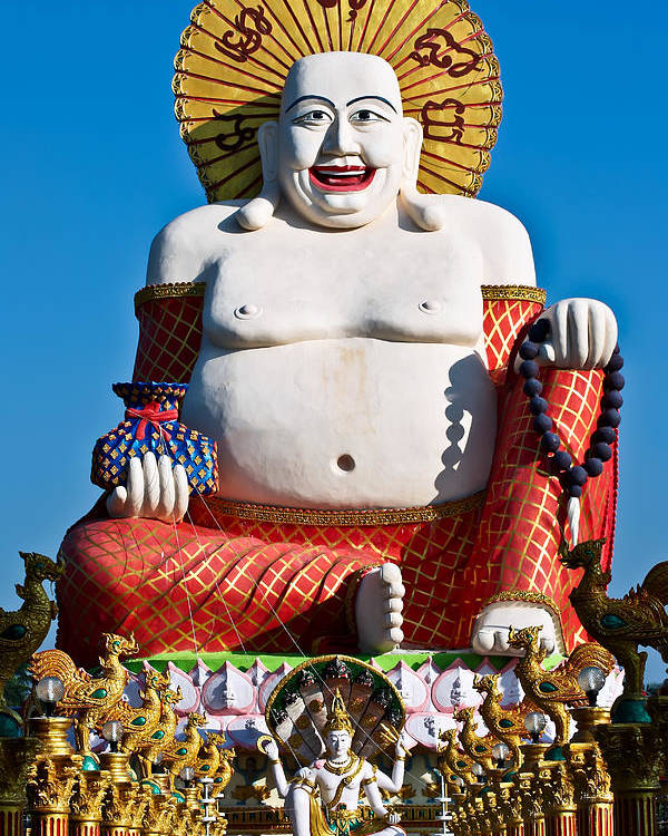 Asia Poster featuring the photograph Statue Of Shiva by Adrian Evans