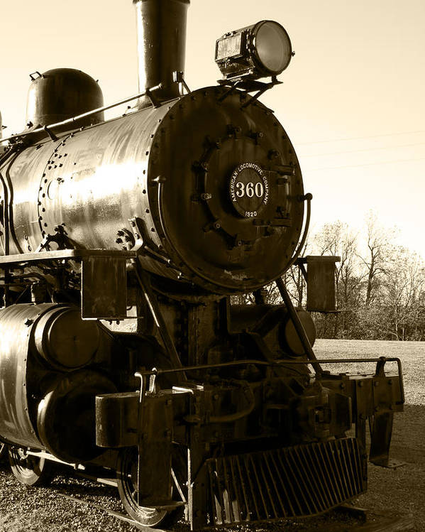 Antique Poster featuring the photograph Steam Power by Ricky Barnard