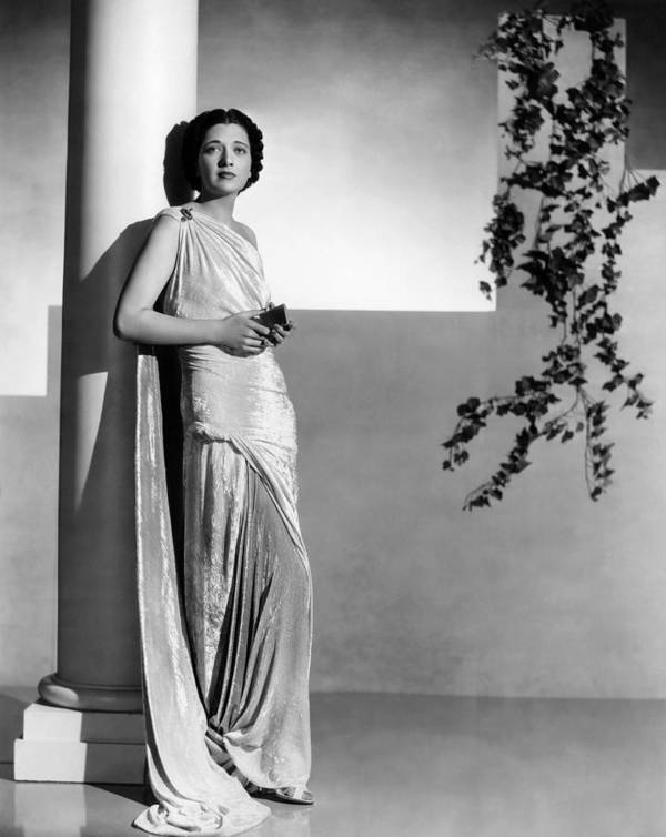 1930s Fashion Poster featuring the photograph Stolen Holiday, Kay Francis, 1937 by Everett