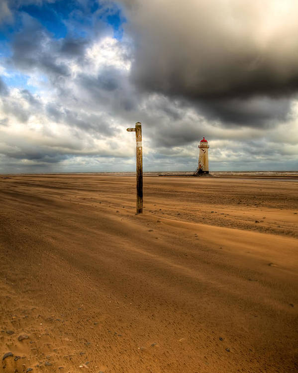 Hdr Poster featuring the photograph Storm Brewing by Adrian Evans