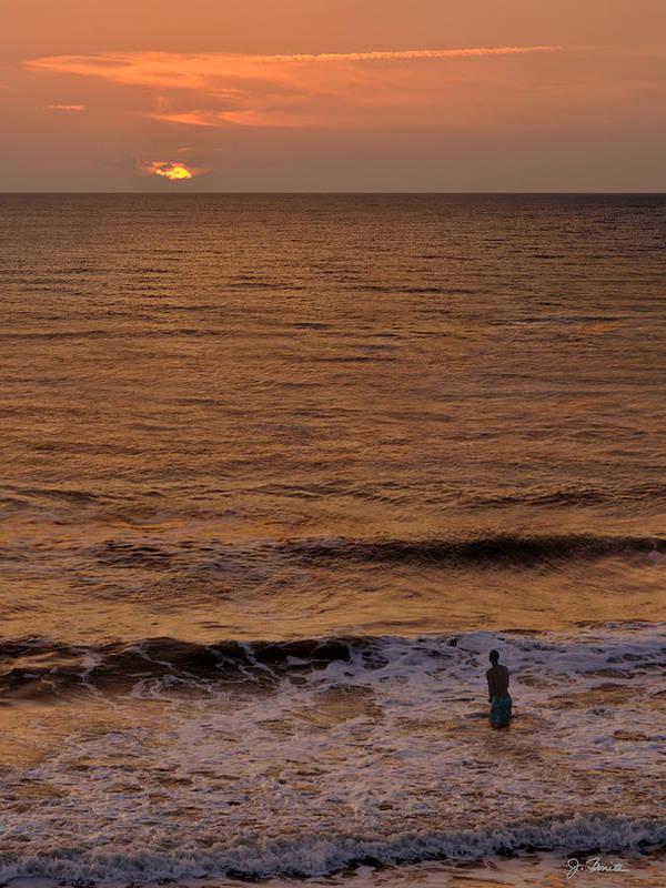 Sunrise Poster featuring the photograph Sunrise At Jacksonville by Joe Bonita