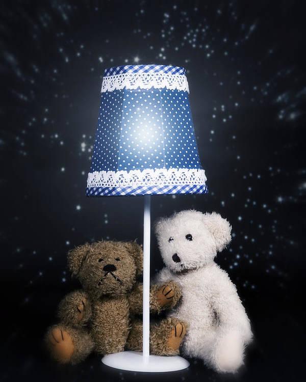 Teddy Poster featuring the photograph Teddy Bears by Joana Kruse