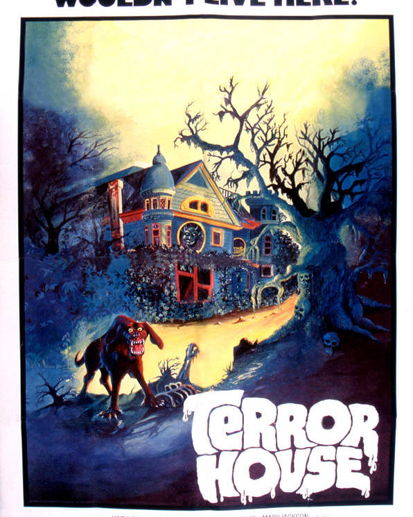 1970s Movies Poster featuring the photograph Terror House Aka Club Dead Terror At by Everett