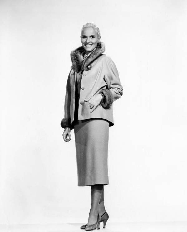 1950s Fashion Poster featuring the photograph That Certain Feeling, Eva Marie Saint by Everett