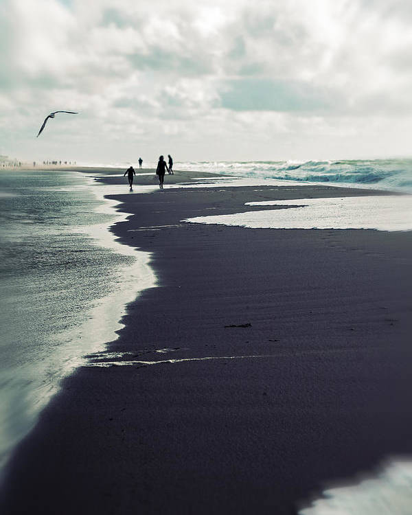 Beach Poster featuring the photograph The Beach by Joana Kruse