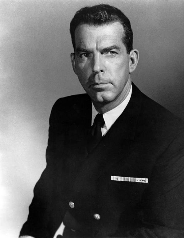 1950s Portraits Poster featuring the photograph The Caine Mutiny, Fred Macmurray, 1954 by Everett