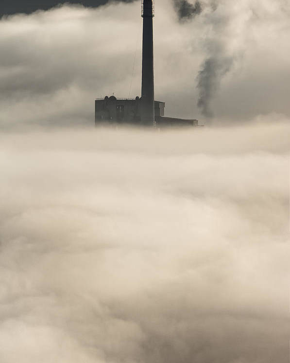 Peak District Poster featuring the photograph The Cloud Factory by Andy Astbury
