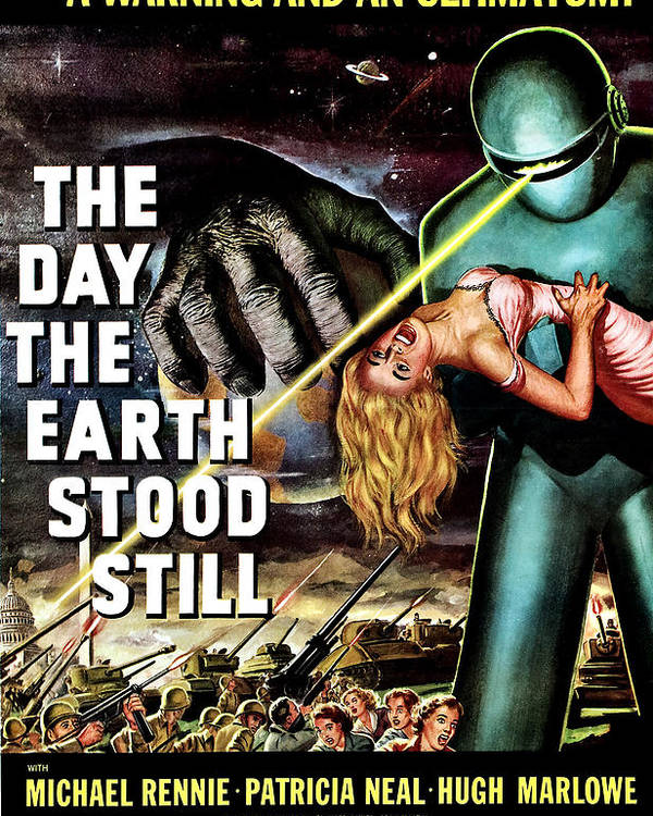 1950s Movies Poster featuring the photograph The Day The Earth Stood Still, 1951 by Everett