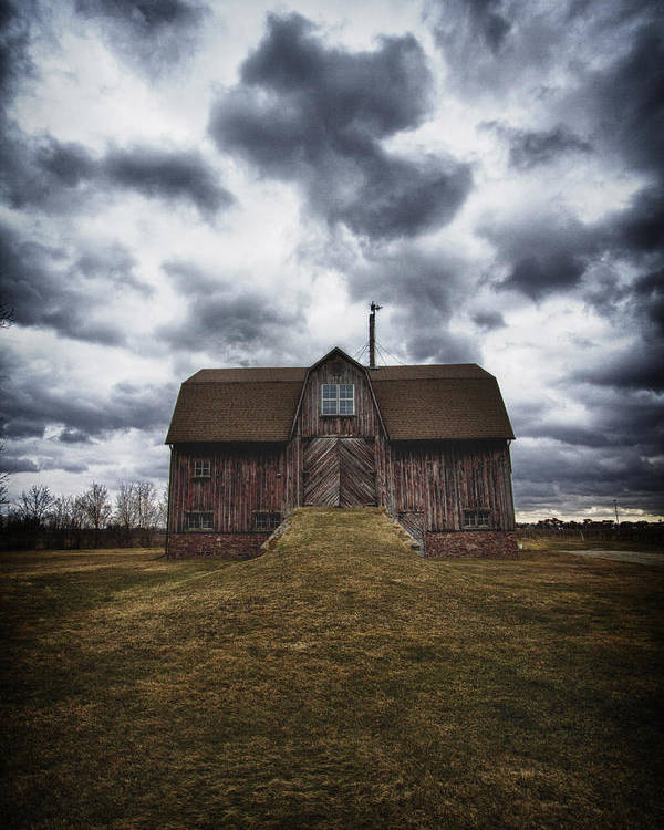 Barn Poster featuring the photograph The Devil In Me Said Go Down To The Shed.... by Russell Styles