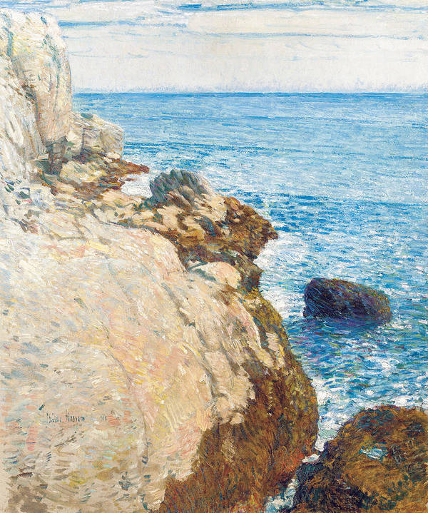 The East Headland Poster featuring the painting The East Headland by Childe Hassam