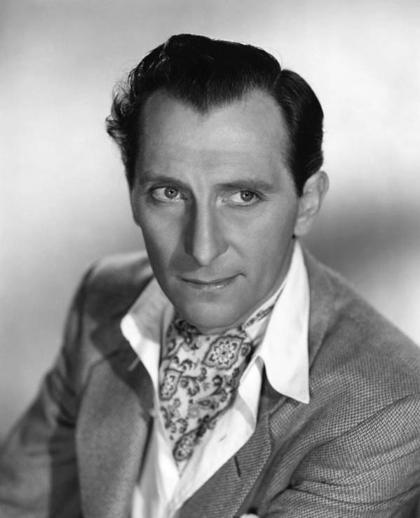 1950s Portraits Poster featuring the photograph The End Of The Affair, Peter Cushing by Everett