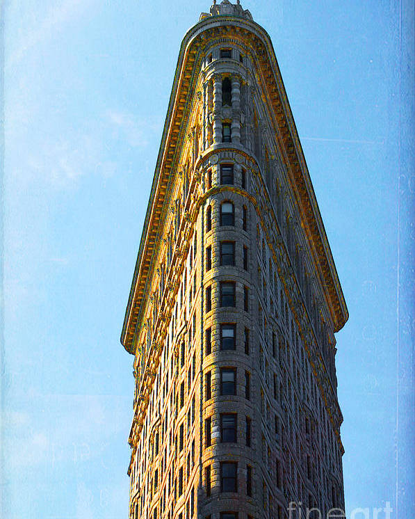 Flatiron Building Poster featuring the photograph The Flatiron by Kim Fearheiley