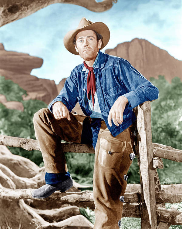 1940s Portraits Poster featuring the photograph The Ox-bow Incident, Henry Fonda, 1943 by Everett