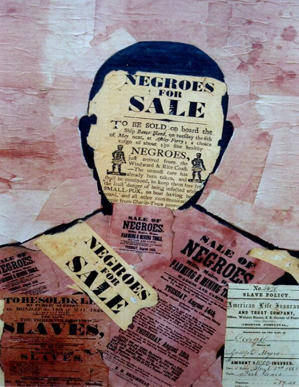 Slavery Poster featuring the digital art The Slave by Andy Tate