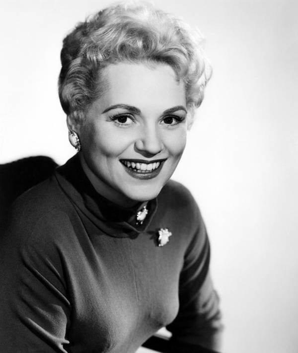 1950s Portraits Poster featuring the photograph The Solid Gold Cadillac,judy Holliday by Everett