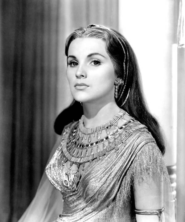 1950s Portraits Poster featuring the photograph The Ten Commandments, Debra Paget, 1956 by Everett