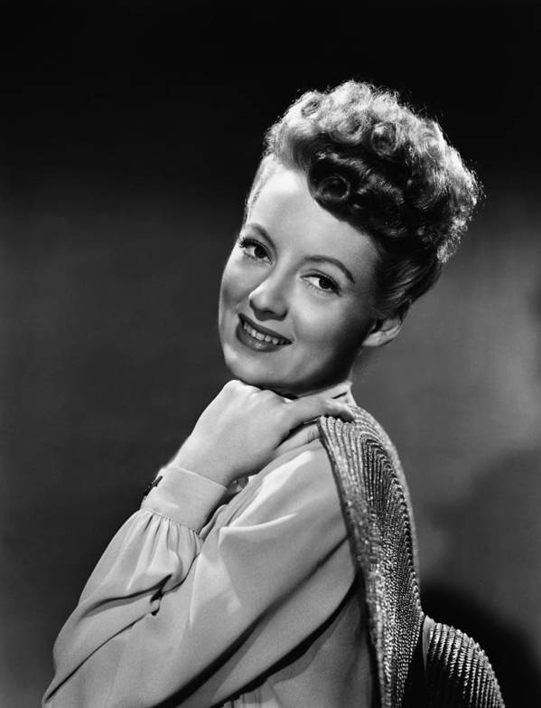1940s Portraits Poster featuring the photograph The Thrill Of Brazil, Evelyn Keyes, 1946 by Everett