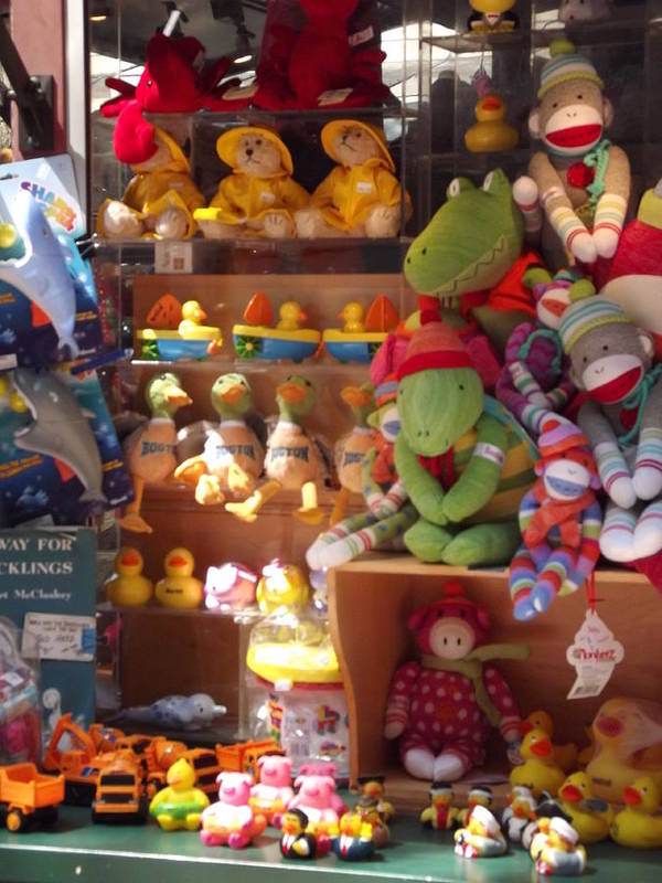 Children Poster featuring the photograph The Toy Store by Cathy Curreri