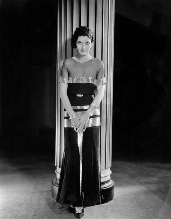 1930s Fashion Poster featuring the photograph The Vice Squad, Kay Francis, 1931 by Everett