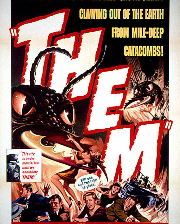 1950s Movies Poster featuring the photograph Them 1954, Poster Art by Everett
