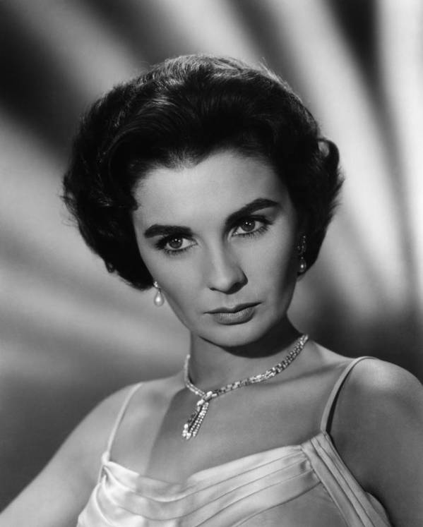 1950s Portraits Poster featuring the photograph This Earth Is Mine, Jean Simmons, 1959 by Everett