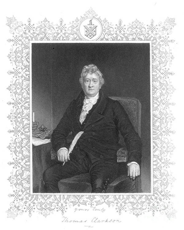 18th Century Poster featuring the photograph Thomas Clarkson (1760-1846) by Granger