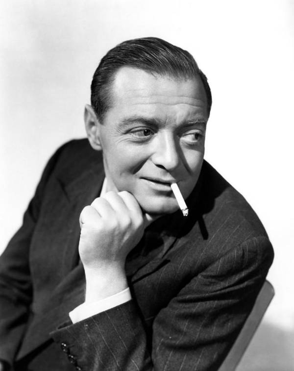 1940s Portraits Poster featuring the photograph Three Strangers, Peter Lorre, 1946 by Everett