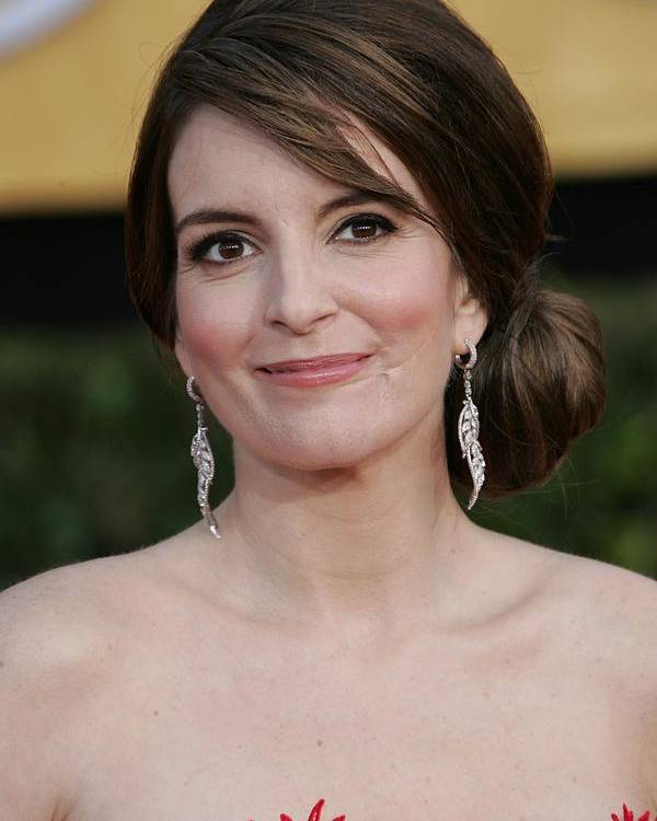 Tina Fey Poster featuring the photograph Tina Fey At Arrivals For 17th Annual by Everett