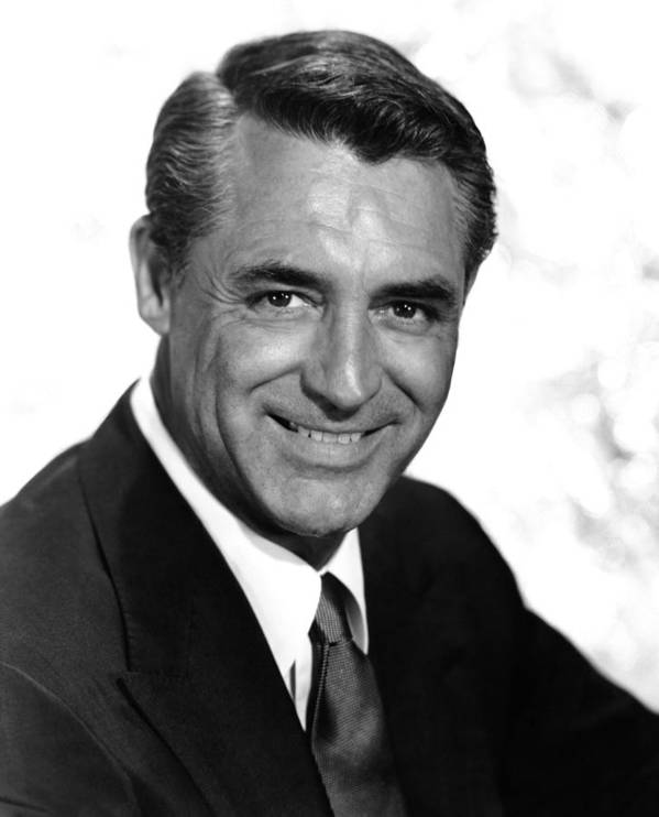 1950s Portraits Poster featuring the photograph To Catch A Thief, Cary Grant, 1955 by Everett