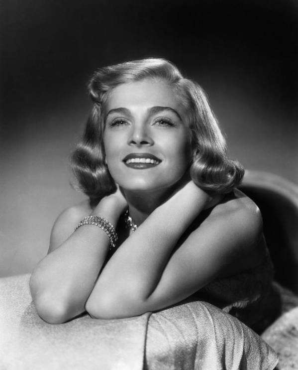 1940s Portraits Poster featuring the photograph Too Late For Tears, Lizabeth Scott, 1949 by Everett