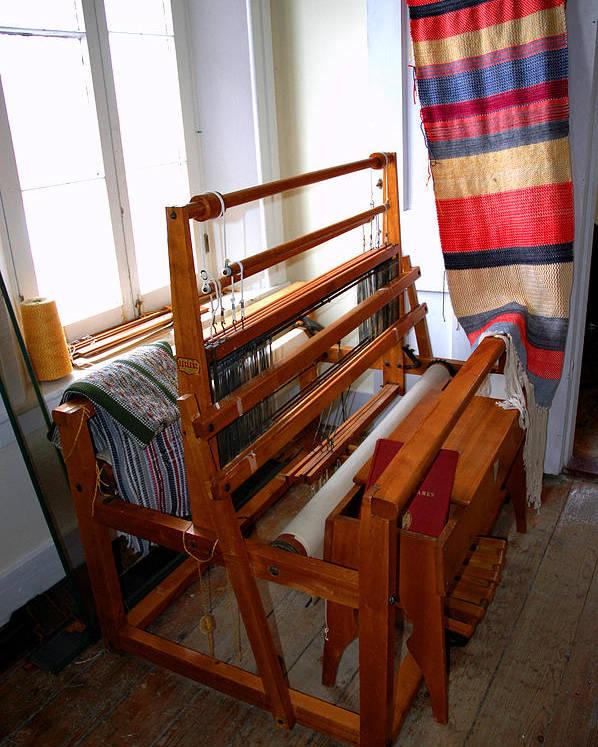 Usa Poster featuring the photograph Traditional Weavers Loom by LeeAnn McLaneGoetz McLaneGoetzStudioLLCcom