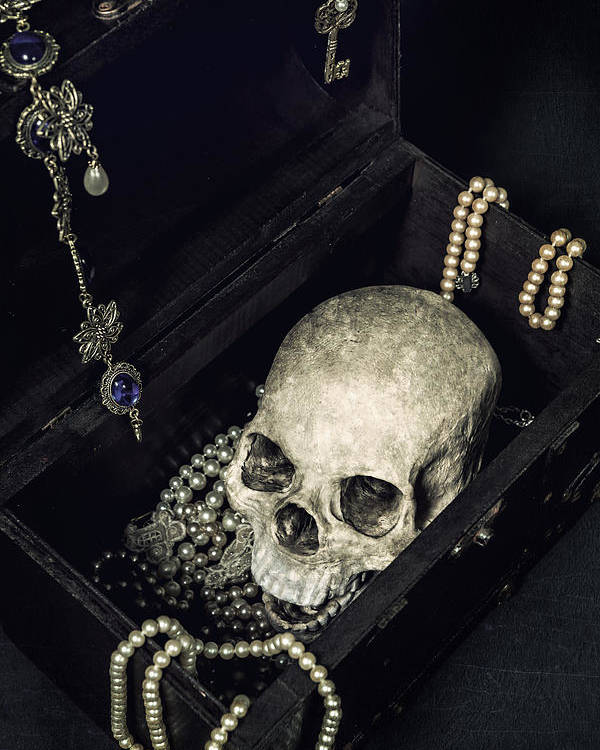 Skull Poster featuring the photograph Treasure Chest by Joana Kruse