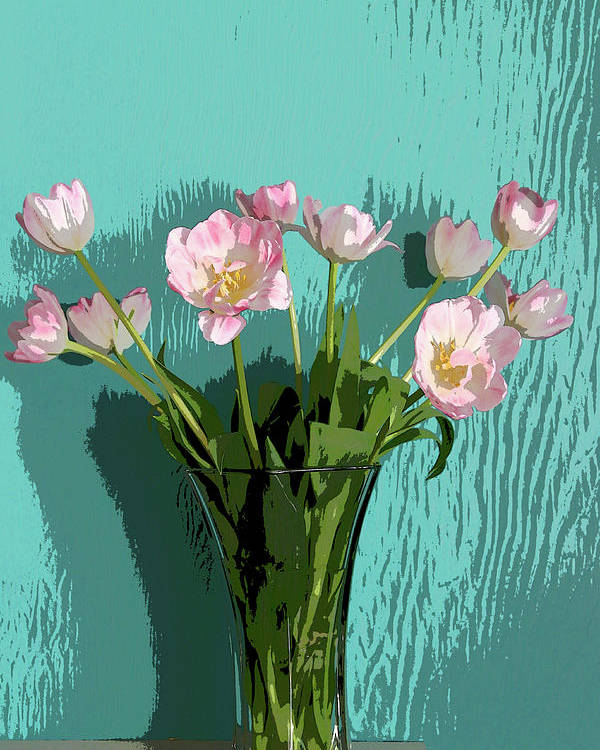 Floral Poster featuring the photograph Tulips by Joanne Riske