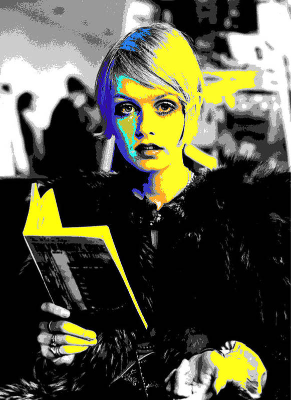 Twiggy Poster featuring the digital art Twigs by Chandler Douglas