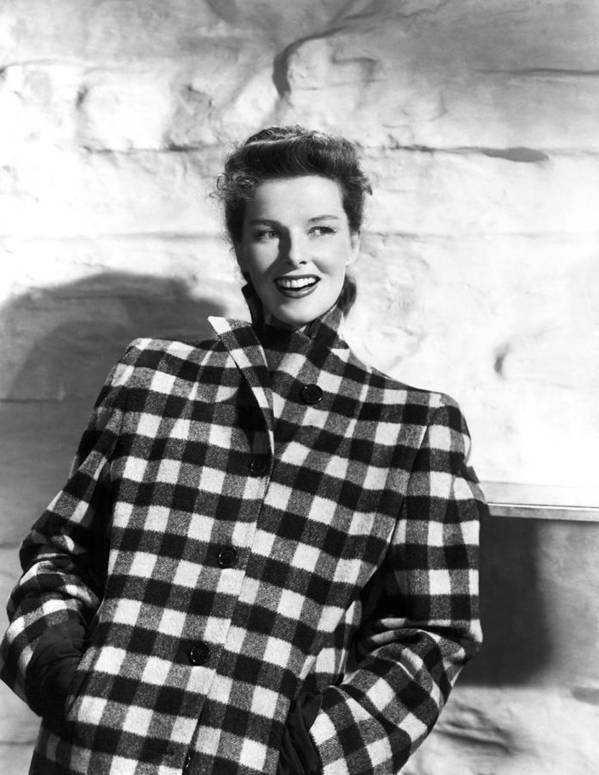 1940s Portraits Poster featuring the photograph Undercurrent, Katharine Hepburn, 1946 by Everett