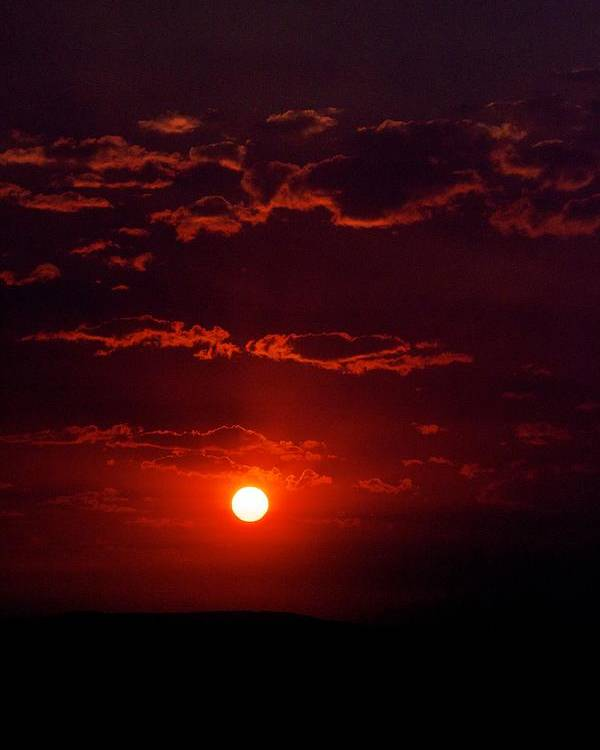 Sunset Poster featuring the photograph Velvet Sun by Kevin Bone