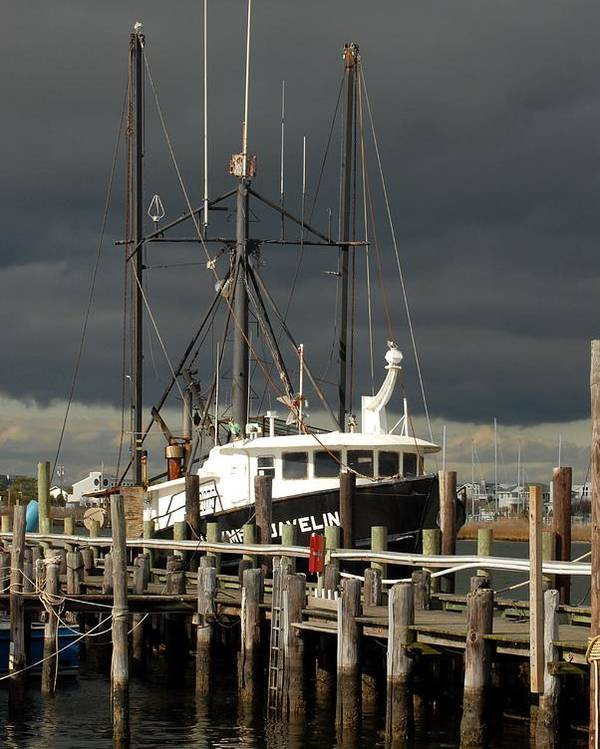 Commercial Fishing Boats Poster featuring the photograph Vessel 99 by Joyce StJames
