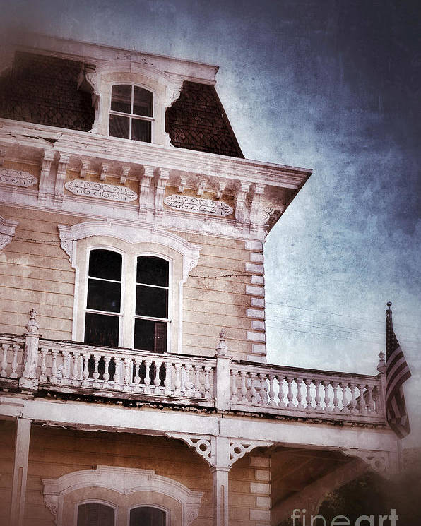 House Poster featuring the photograph Victorian House by Jill Battaglia